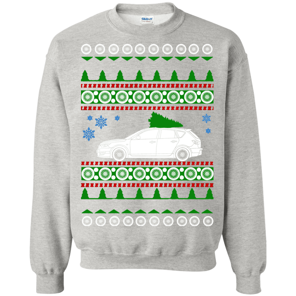 Mazda Speed 3 2007 Ugly Christmas Sweater