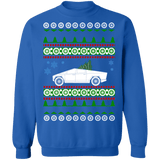 Electric Vehicle Truck like CyberTruck Ugly Christmas Sweatshirt sweatshirt