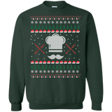 Chef Hat Ugly Christmas Sweater sweatshirt