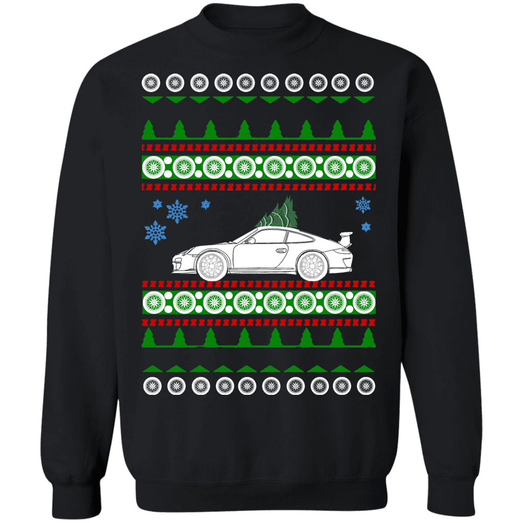 German Car like 997.1 GT3 RS 911 Porsche Ugly Christmas Sweater Sweatshirt sweatshirt