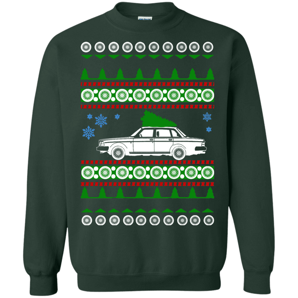 Volvo 240 Ugly Christmas Sweater