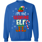 I'm the Grandma Elf Ugly Sweater Christmas sweatshirt