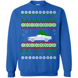 M635csi BMW Ugly Christmas Sweater green tree sweatshirt
