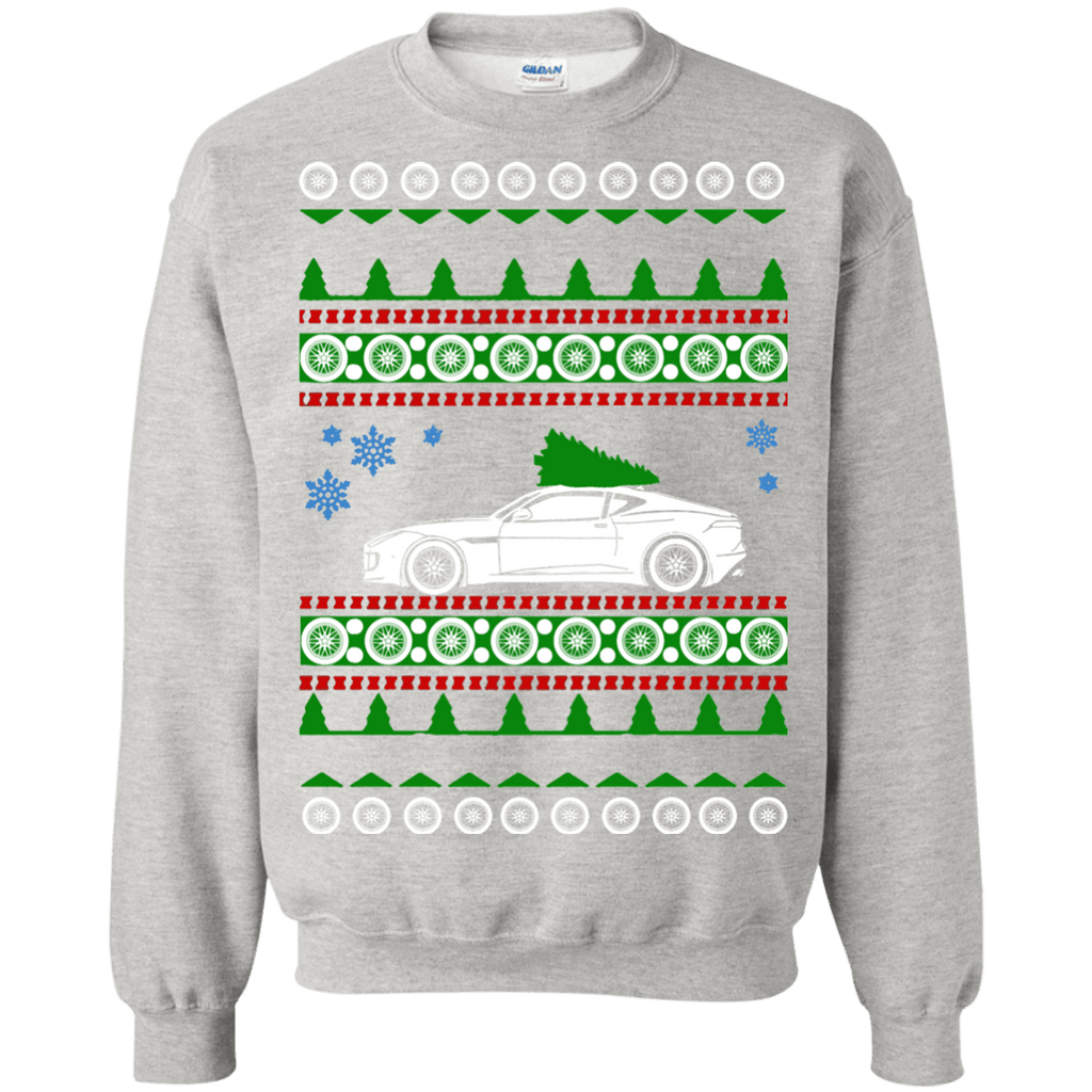 Jaguar F Type R 2015 Ugly Christmas Sweater