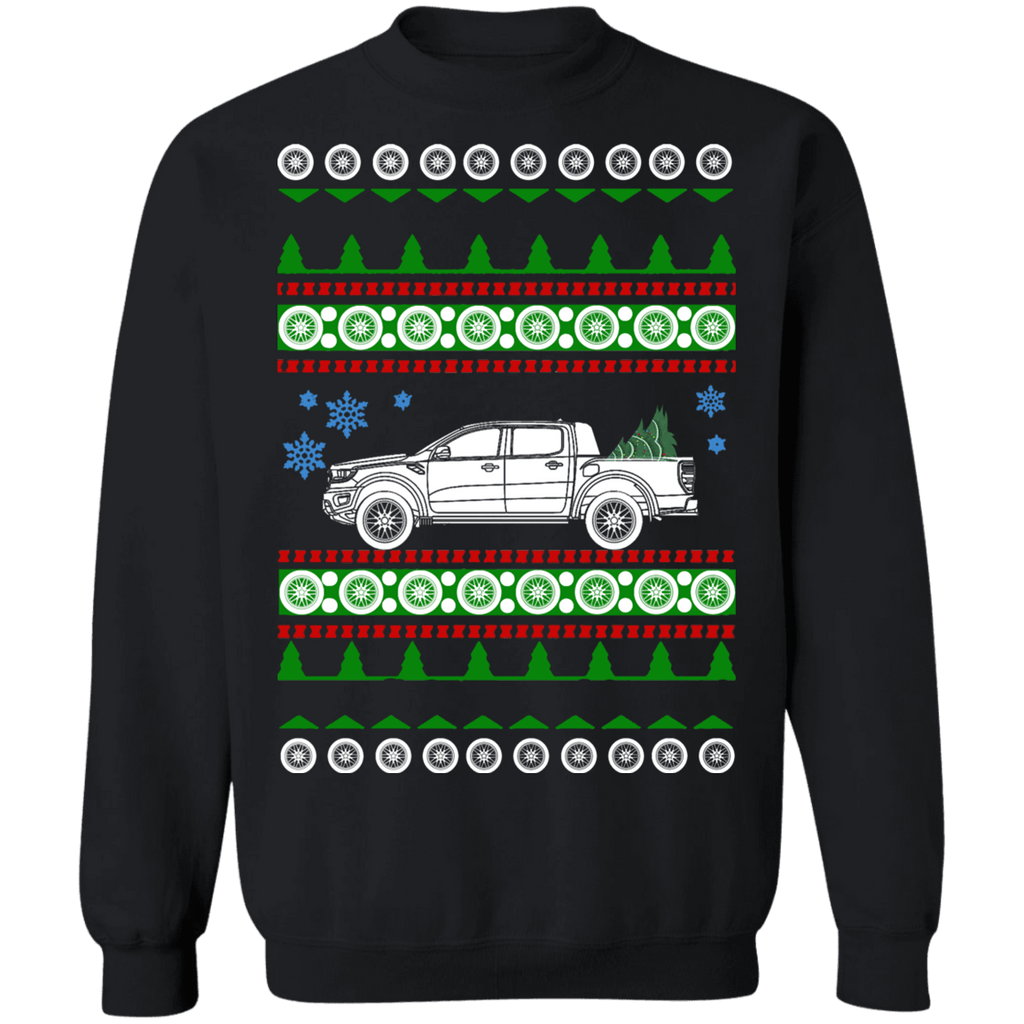Truck Ranger Raptor Ford Ugly Christmas Sweater Sweatshirt
