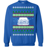 Volvo 240 245 Front View Ugly Christmas Sweater sweatshirt