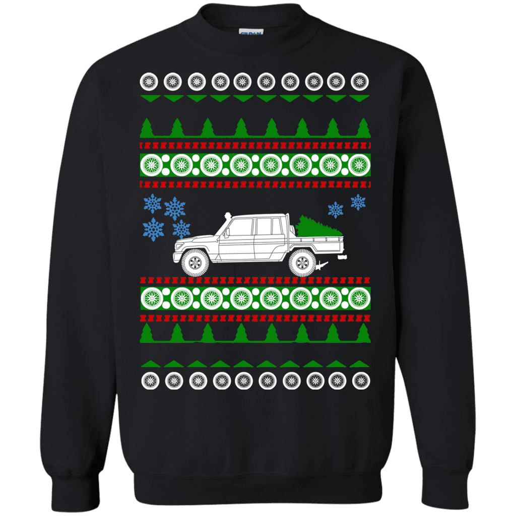 Land Cruiser 79 Series Ugly Christmas Sweater sweatshirt
