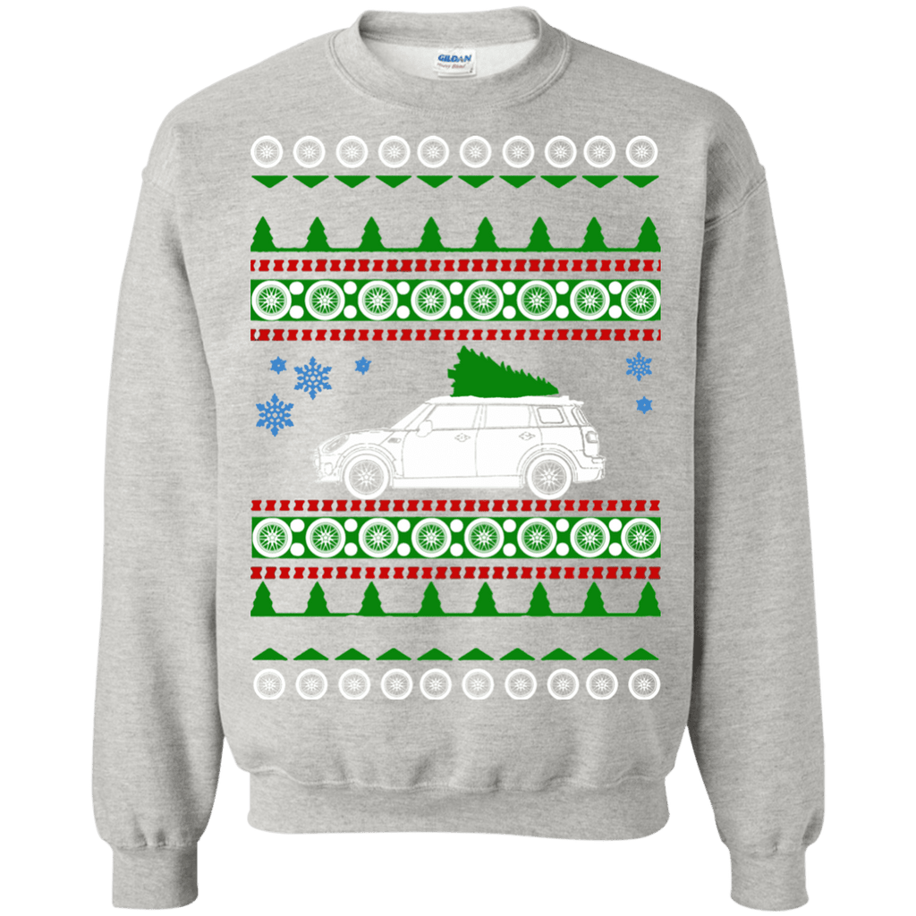 Mini Clubman 4 door Ugly Christmas Sweater