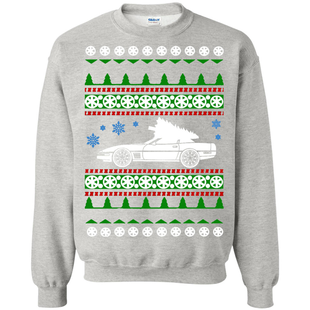 Corvette C4 ugly Christmas Sweater