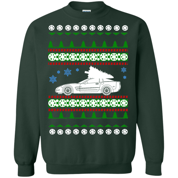C5 Corvette ugly christmas sweater shirt