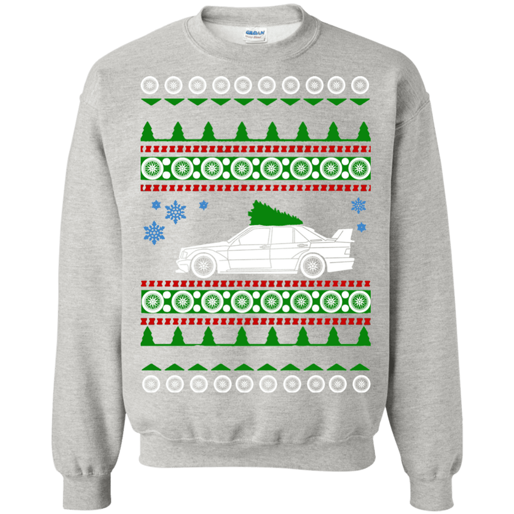 Mercedes 190E Cosworth Evo 2 16v Ugly Christmas Sweater