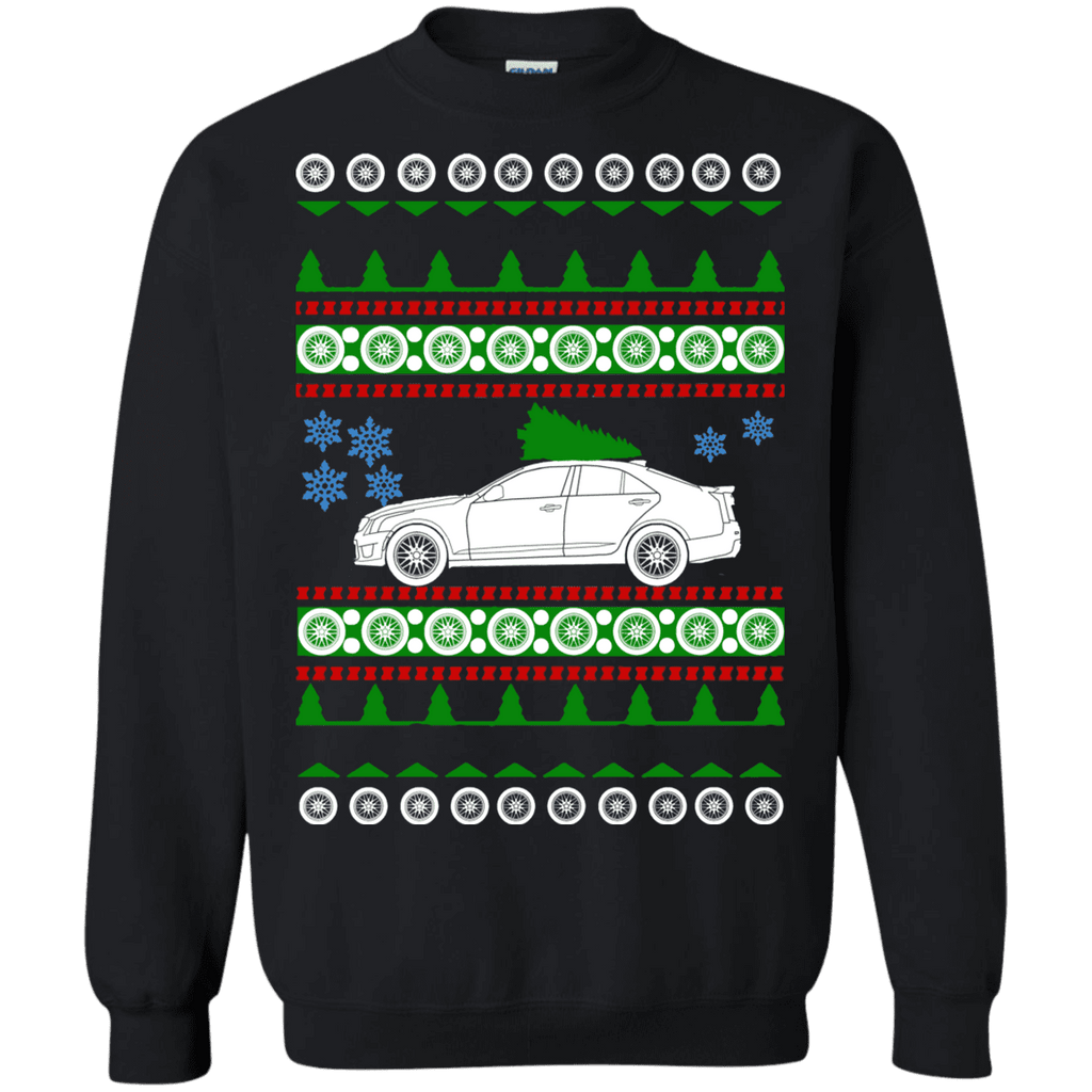 Cadillac ATS-V 2018 Ugly Christmas Sweater