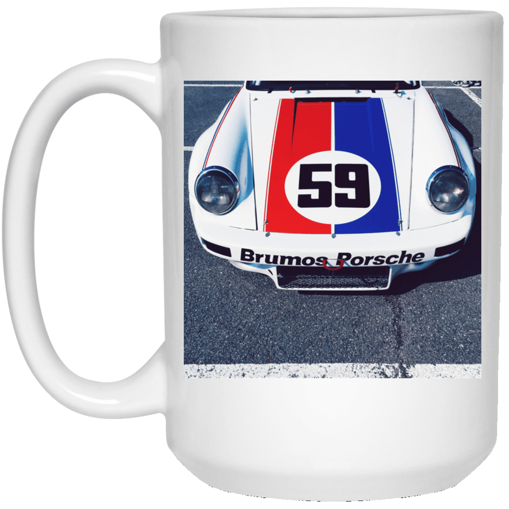 Car Art Photo Brumos Porsche Mug