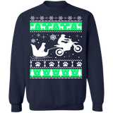 Motocross Mx Labrador Dog Ugly Christmas sweater sweatshirt