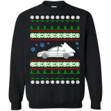 Subaru WRX wagon ugly christmas sweater