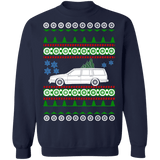 Car like 1989 Volvo 740 Wagon ugly Christmas Sweater