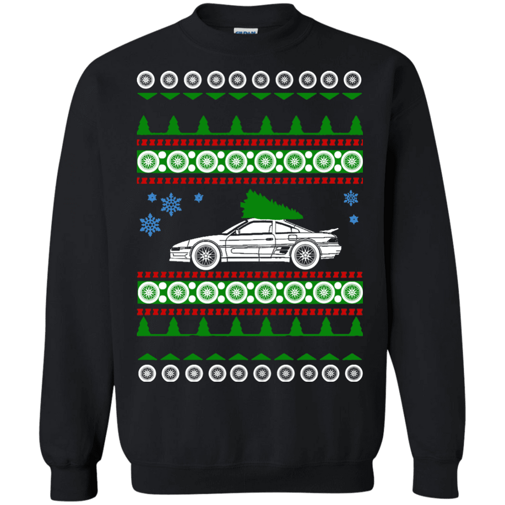 Toyota MR2 turbo ugly christmas sweater (1989-1999) sweatshirt