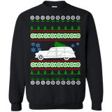 Buick Woody Wagon Hot Rod Ugly Christmas Sweater
