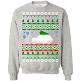 Mini Cooper Old school Ugly Christmas Sweater