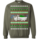 Dump Truck Ugly Christmas Sweater