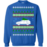 German SUV Porsche Cayenne Style Ugly Christmas Sweater