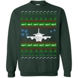Airplane Aviation Ugly Christmas Sweater