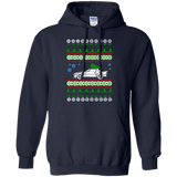 Mazda RX7 gen 1 Ugly Christmas Sweater Hoodie