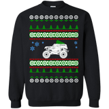 Monster Truck Ugly Christmas Sweater Grave Digger