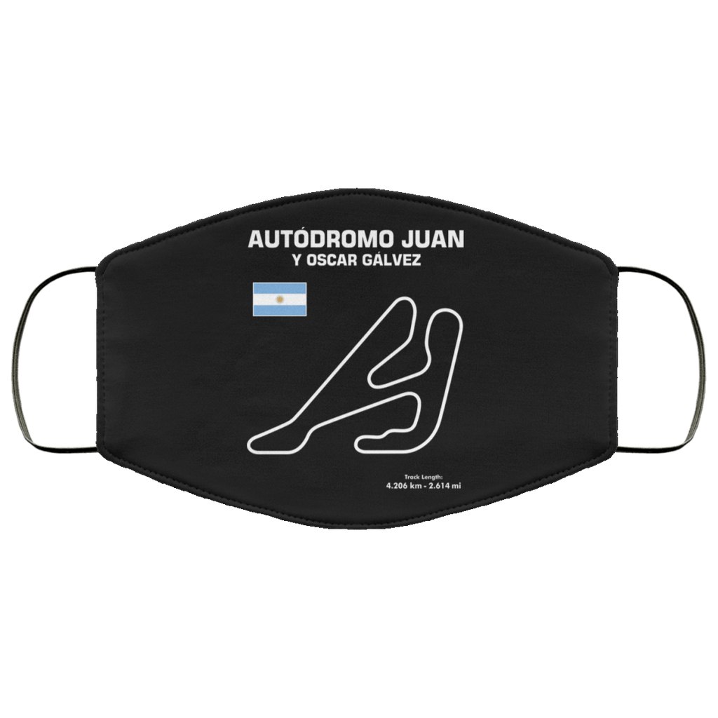 Autodromo Juan y Oscar Galvez Face mask non-medical
