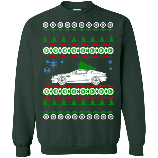Aston Martin DB9 ugly christmas sweater