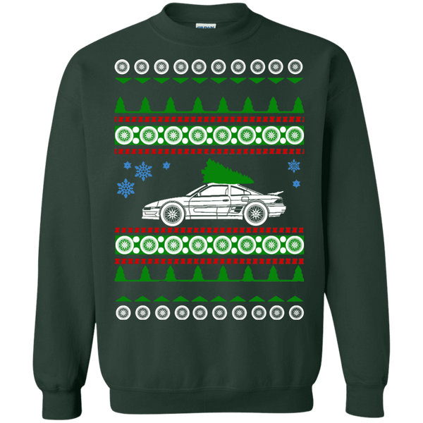 toyota mr2 turbo ugly christmas sweater shirt