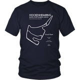 Hockenheimring Track Outline T-shirt