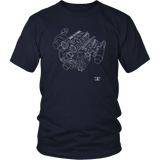 Engine Blueprint Series Cosworth YB Turbo T-shirt and Hoodie
