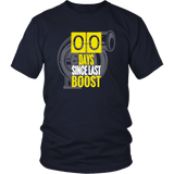 Zero Days Since Last Boost Turbo T-shirt and Hoodie