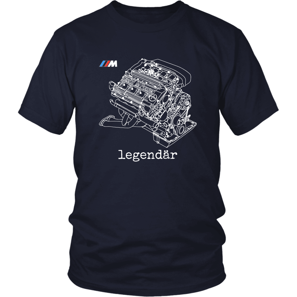 bmw e30 m3 s14 engine t shirt mens unisex