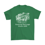 Subaru EJ257 Engine Blueprint Illustration Shirt Hurting Feelings since 1996