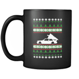 BMW E30 M3 Ugly Christmas sweater Coffee Mug sweatshirt