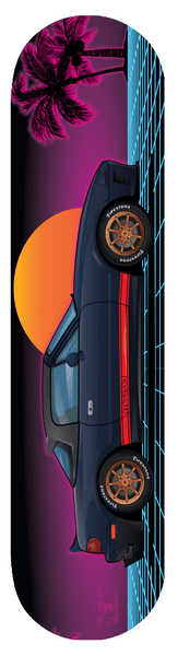 Mazda Miata MX-5 Skateboard Deck 7-ply Canadian Hard Rock Maple