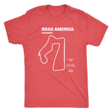 Road America Speedway Race Track Outline Series T-shirt