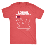 Losail International Circuit Qatar Race Track Outline Series T-shirt or Hoodie