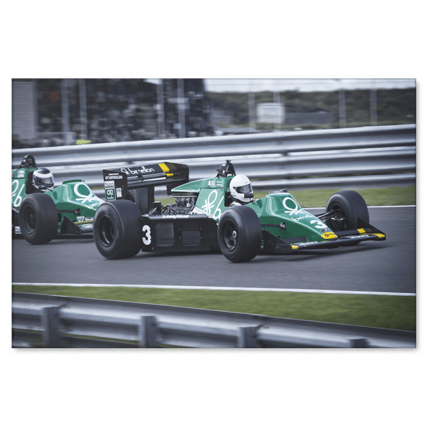 Benetton F1 #3 Formula One Canvas Wall Art