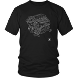 Engine Blueprint Series 2020 GT500 Mustang 760hp T-shirt and Hoodie