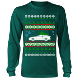 German Car Porsche style 944 951 Turbo Ugly Christmas Sweater Hoodie and Long Sleeve T-shirt