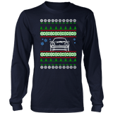 Porsche 911 Turbo Ugly Christmas Sweater, hoodie and long sleeve t-shirt front view