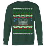 BMW E30 M3 Head-On Ugly Christmas Sweater, hoodie and long sleeve t-shirt