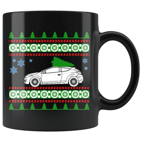 Renault Megane Ugly Christmas Sweater Mug