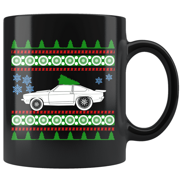 1973 Chevy Vega Drag Christmas Sweater Mug