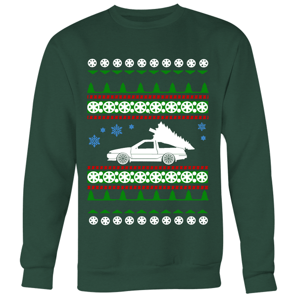 AE86 HachiRoku Toyota Corolla Ugly Christmas Sweater, hoodie and long sleeve t-shirt
