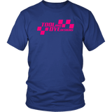 Checkered Flag Tool and Dye Designs Logo T-shirt or Hoodie