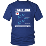 Tsukuba Circuit Race Track Outline Series T-shirt